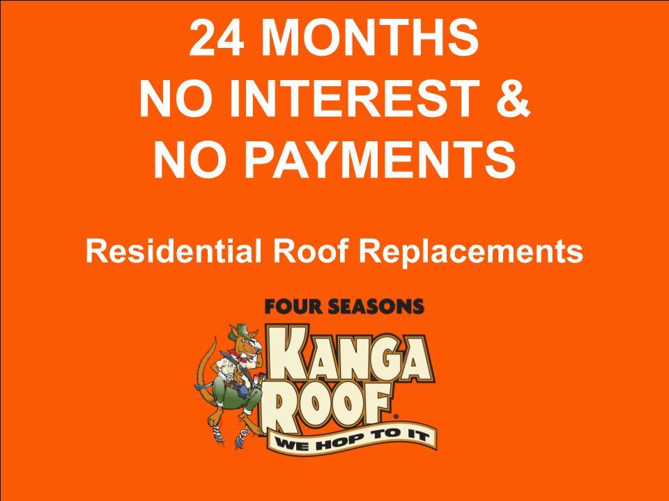 24 Months No Interest - Current Specials